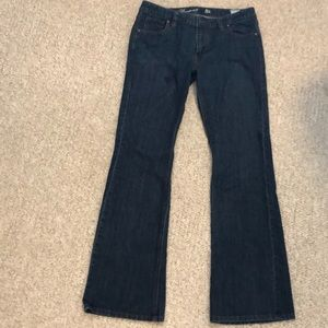 Tommy bootcut jeans. Size 8